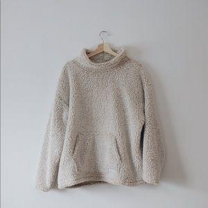 Fuzzy Sherpa Sweater